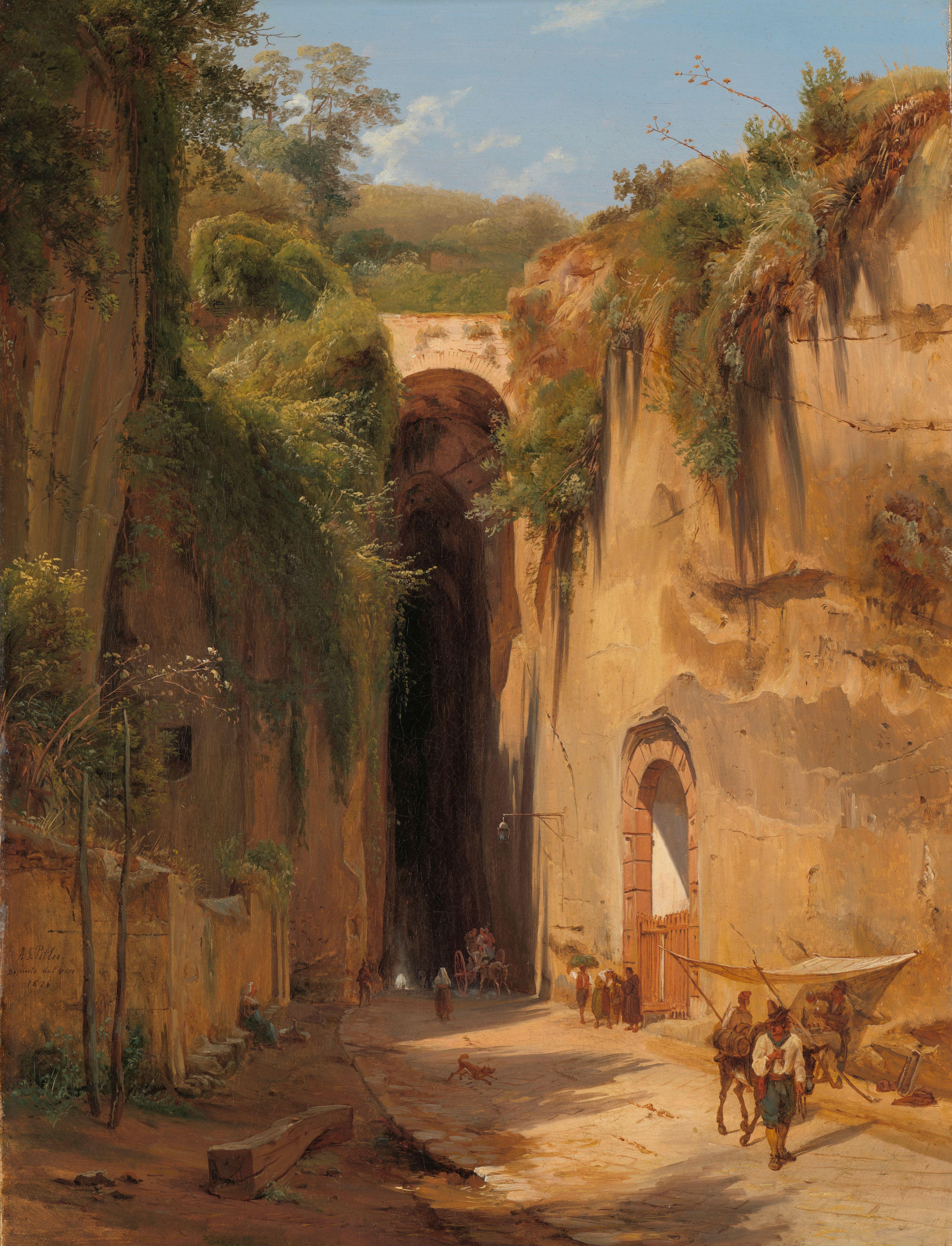 La_Grotta_di_Posillipo_bij_Napels_Rijksmuseum_SK-A-4705