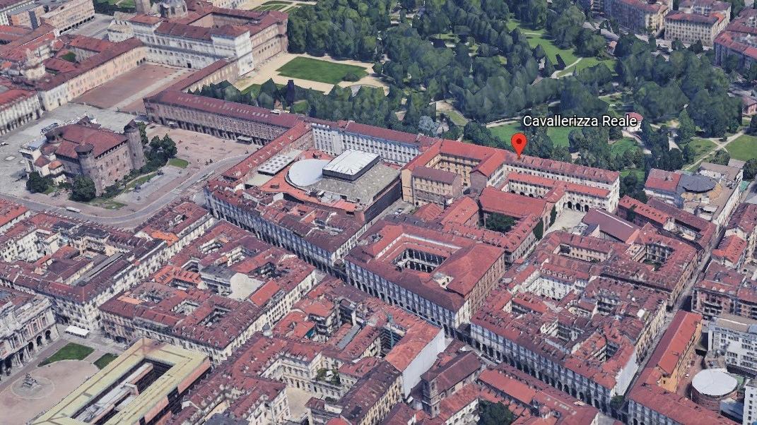 Cavallerizza Reale Google Earth